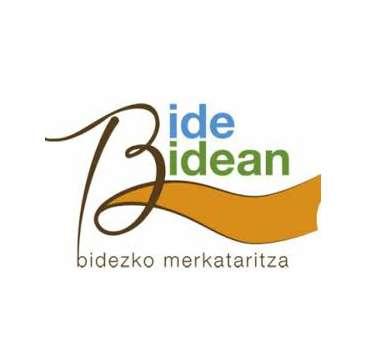 Logotipo de Bide-Bidean