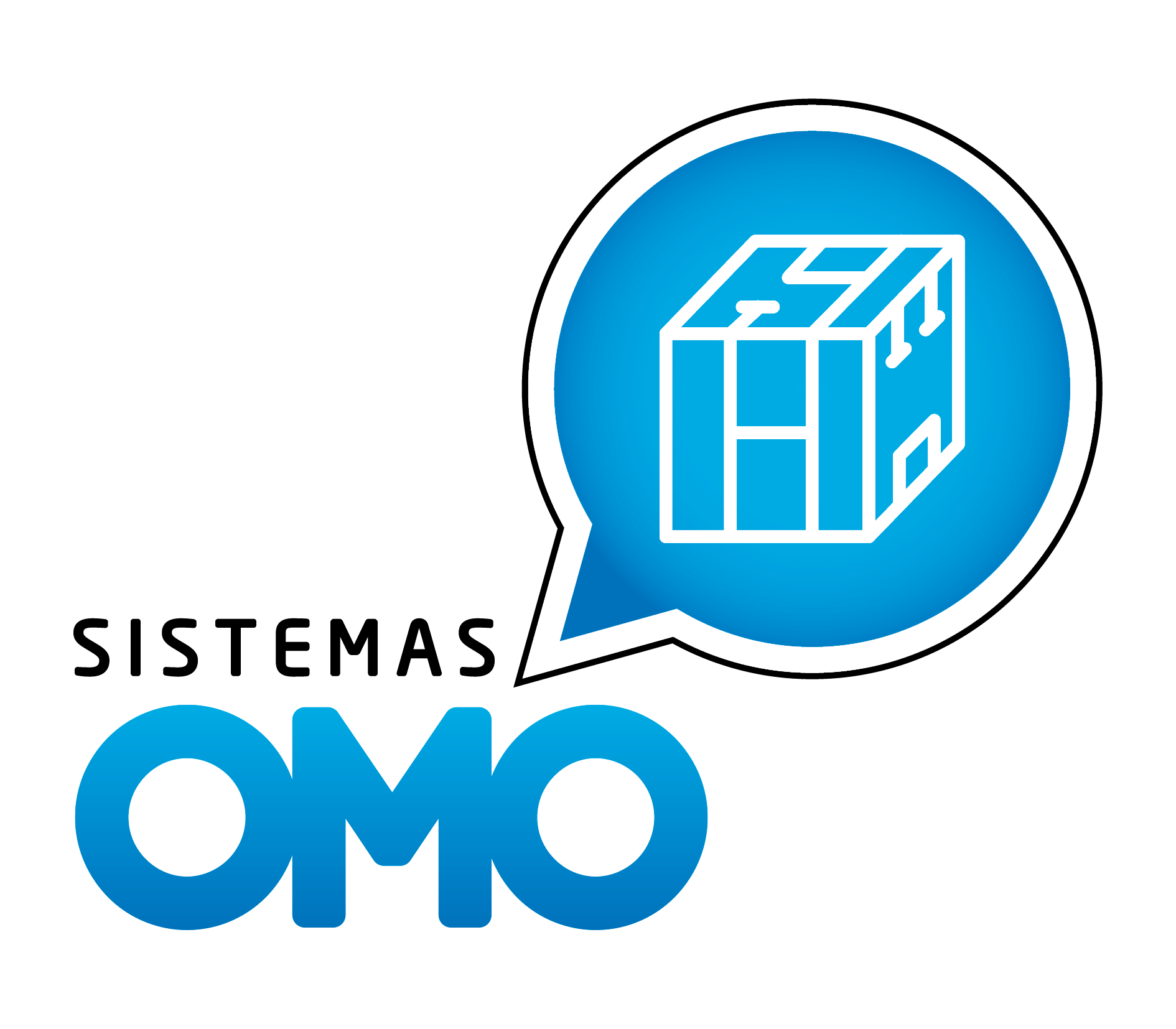Logotipo de Sistemas Omo
